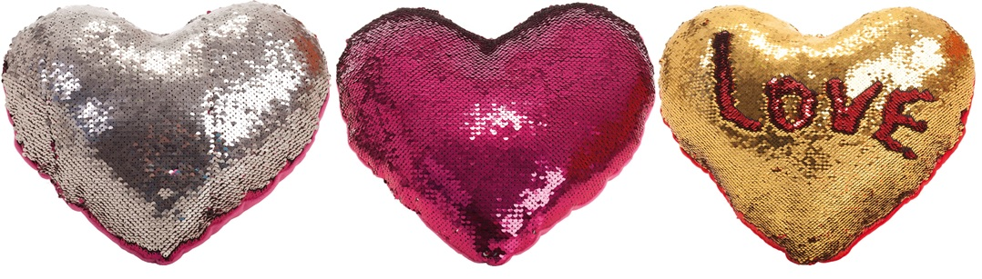 Bright heart cushion 30cm