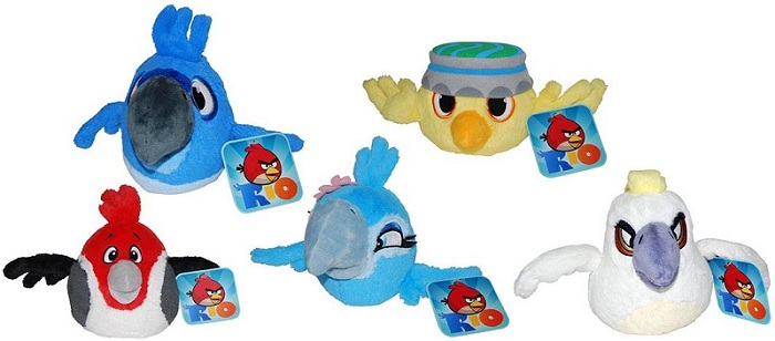 Angry Birds Rio T1 12cm