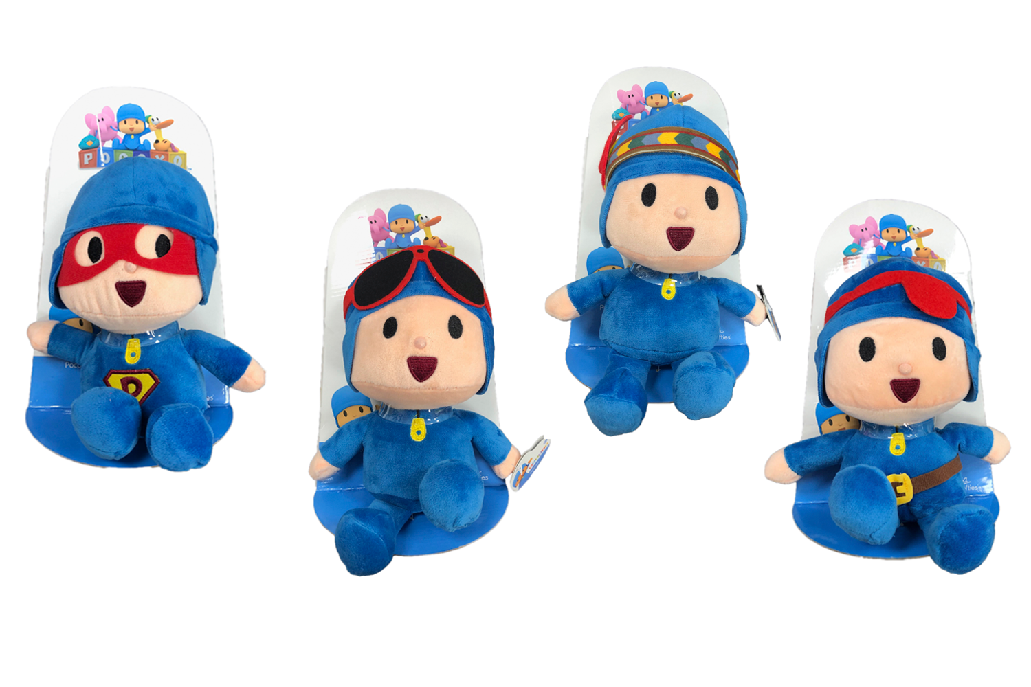 Pocoyo Disguised T3 21cm with Display