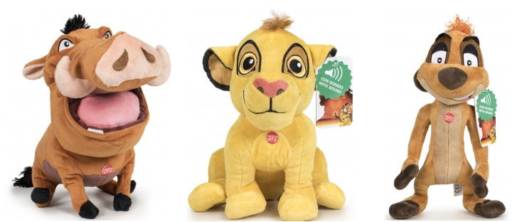 The Lion King T3 28cm with sound