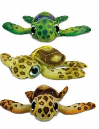 Tortue Marine grands yeux T3 28cm