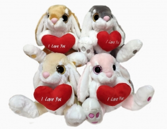 Heart rabbit T1 21cm