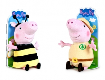 Peppa & George T3 27cm bee and explorer