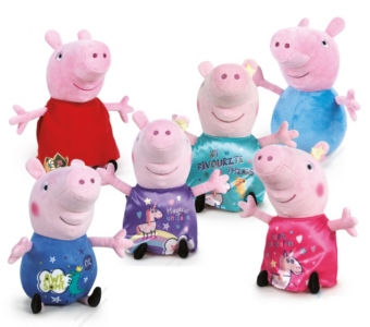 Peppa & George T5 45cm it's magic