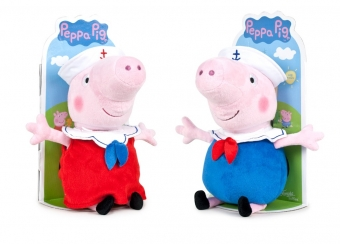 Peppa & George T3 27cm sailors